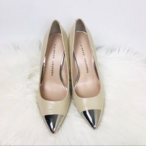 CHINESE LAUNDRY Danger Zone Nude Pumps  7